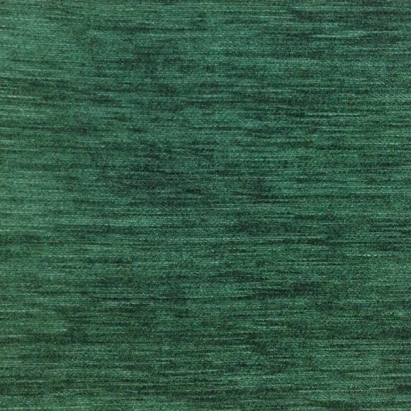 Kensington Bottle Green Chenille Fabric