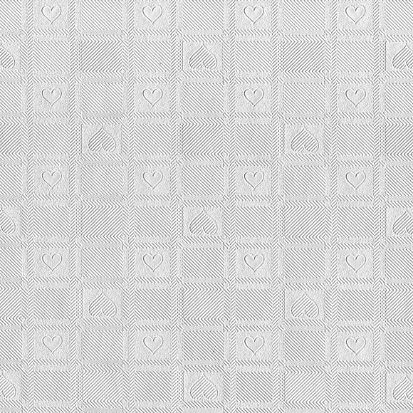 Clear Hearts PVC Clear