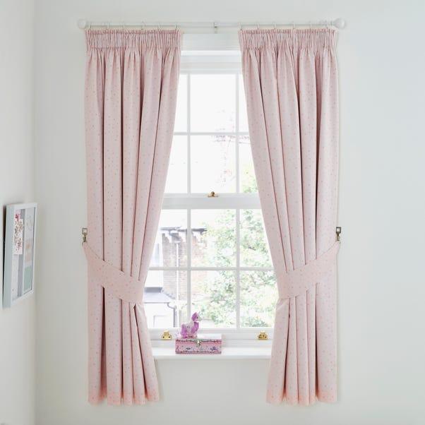 Unicorn Dreams Blackout Pencil Pleat Curtains  undefined