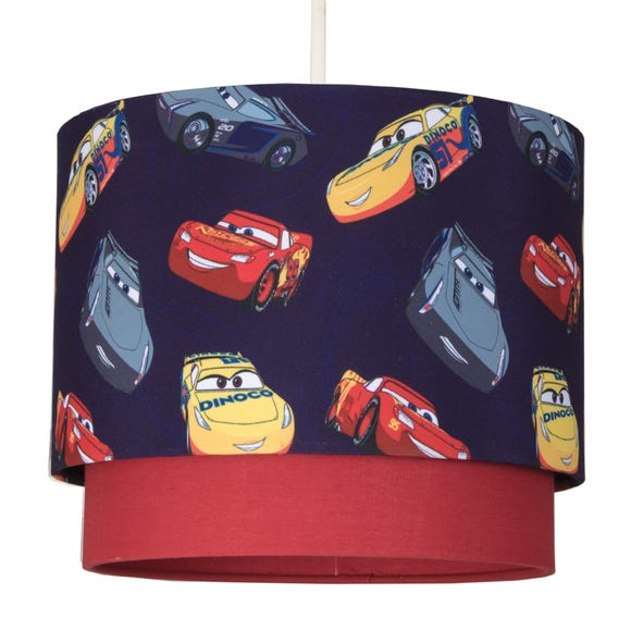 Disney Cars 2 Tier Pendant Shade MultiColoured