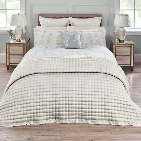 Dorma Ophelia Natural Bedspread Natural undefined