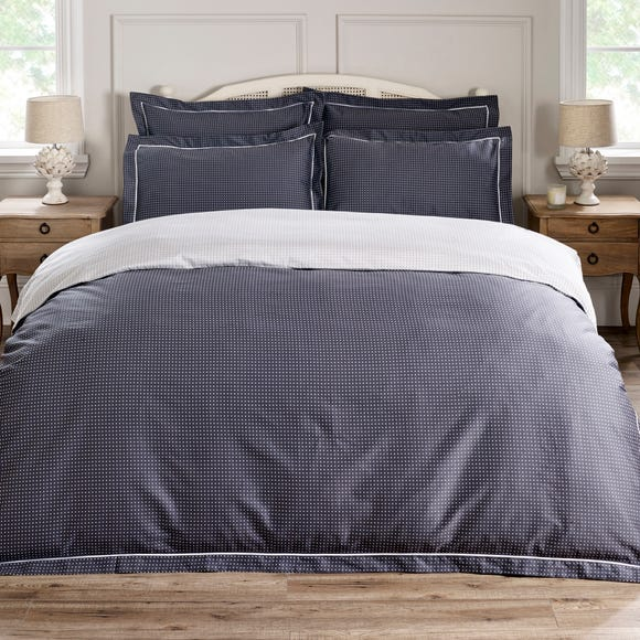 Dorma Genoa 100% Cotton Duvet Cover  undefined