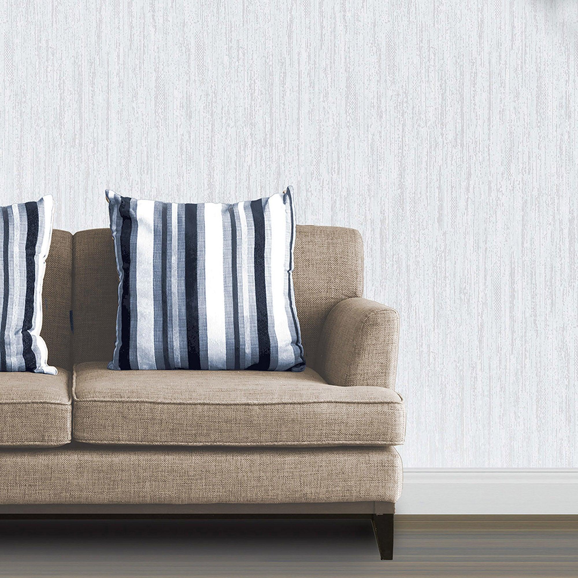 Panache Aragonite Wallpaper Blue And White