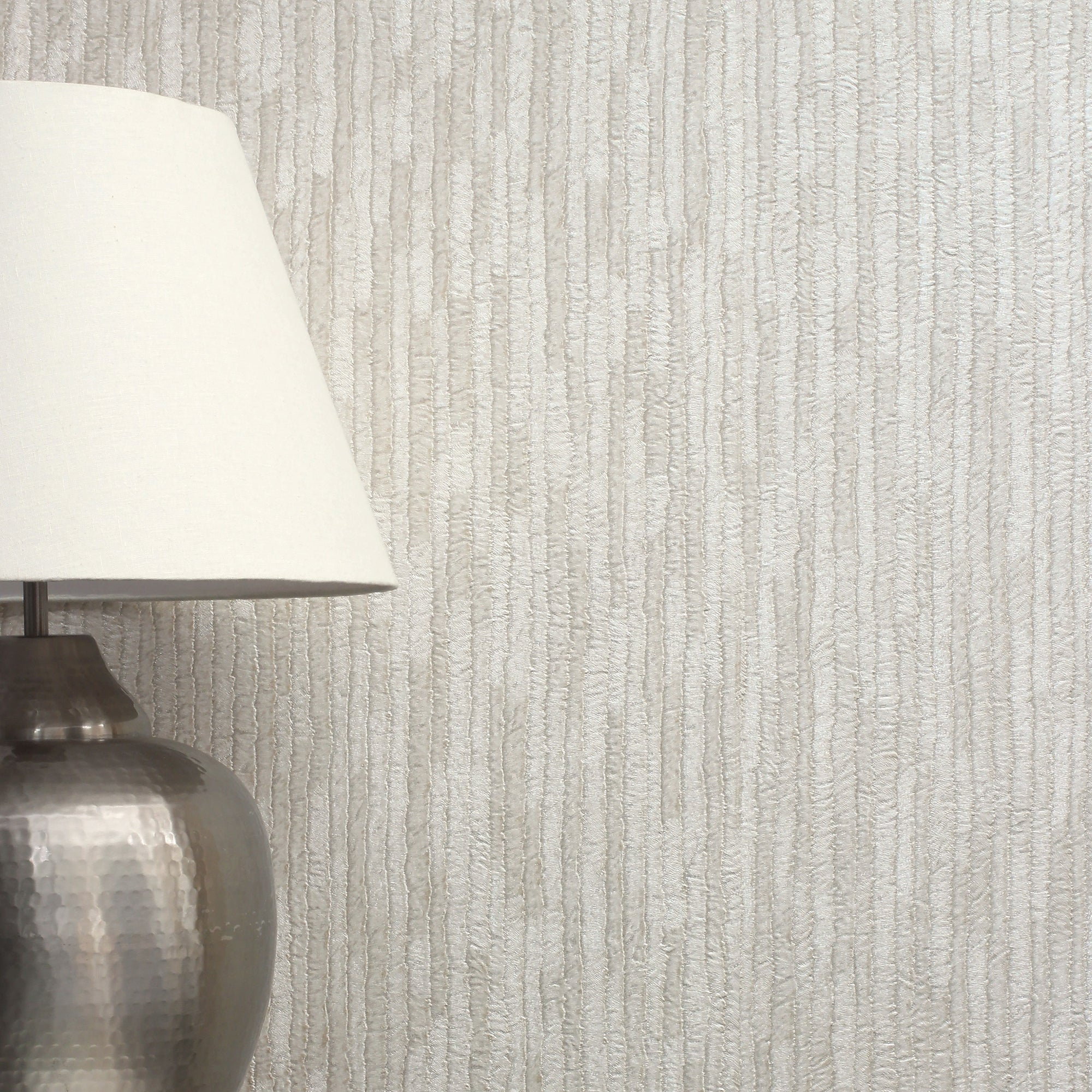 Click to view product details and reviews for Bergamo Leather Texture Silver And Cream Wallpaper Grey And White.
