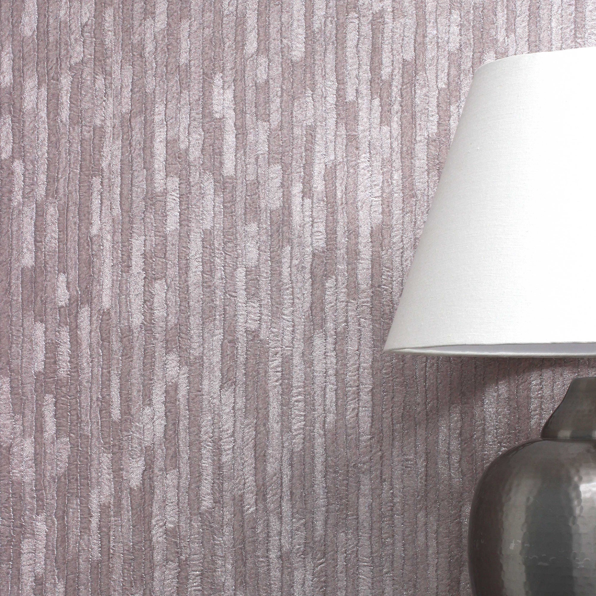 Bergamo Leather Texture Rose Gold Wallpaper Natural