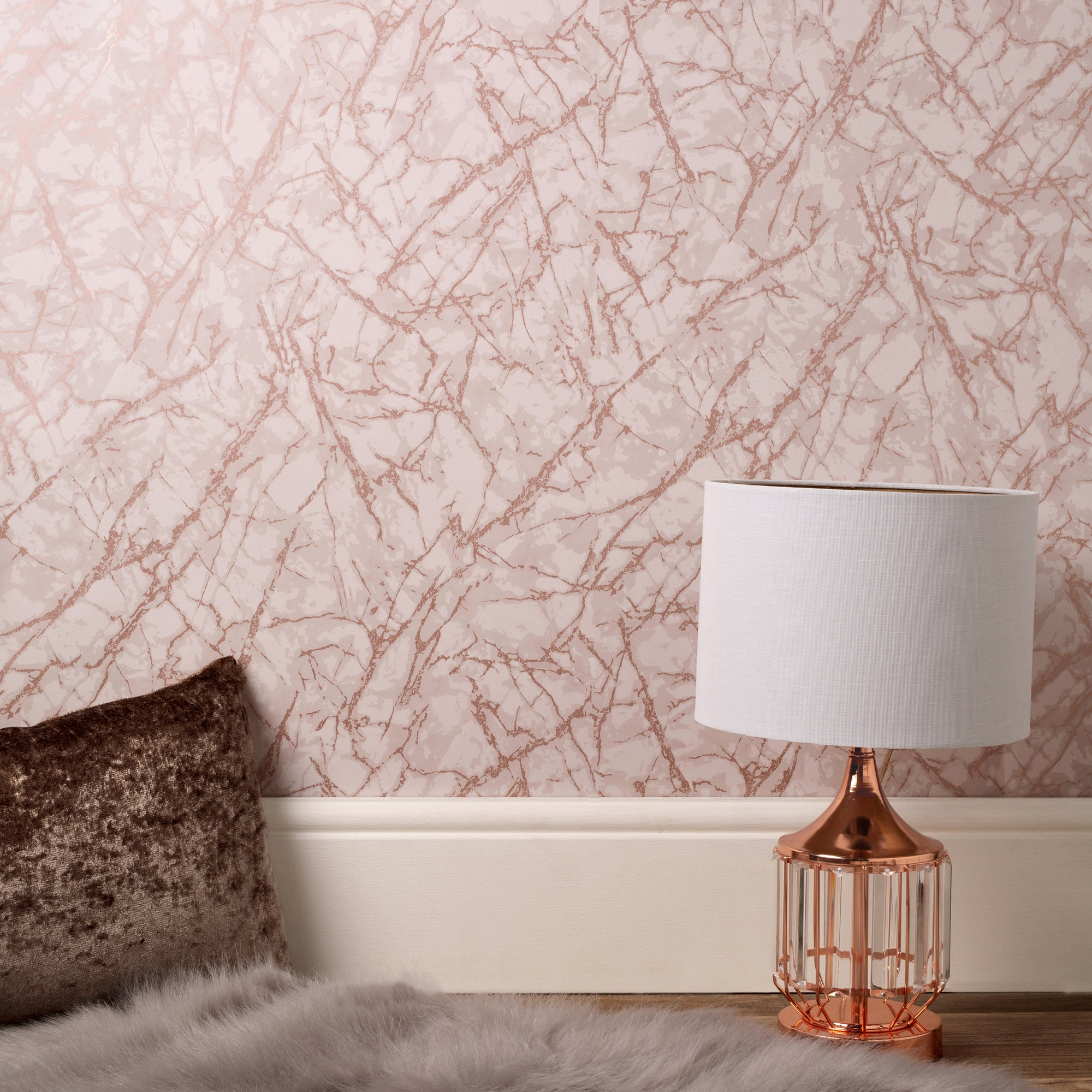 Click to view product details and reviews for Marblesque Metallic Marble Rose Gold Wallpaper Rose Gold.