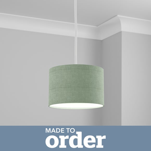 Made To Order 25cm Drum Shade | Dunelm