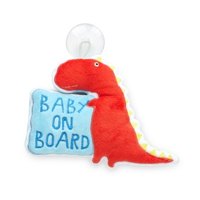 Dino Pop Baby on Board Sign