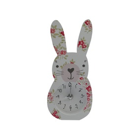 Katy Rabbit Clock
