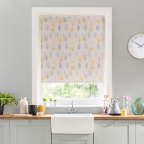 Scandi Trees Blackout Stain Resistant Roller Blind
