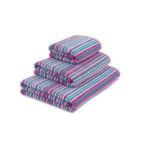 Stripes Fuchsia Towel