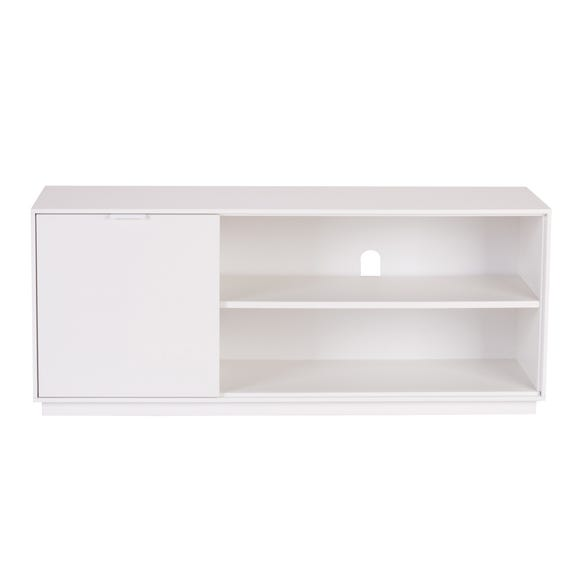 Aria Wide TV Stand Natural (White)