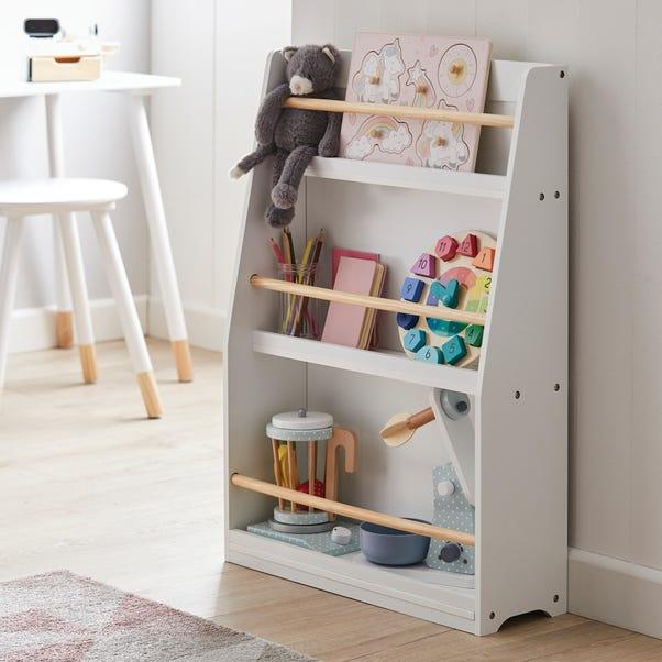 Kids White Bookcase White