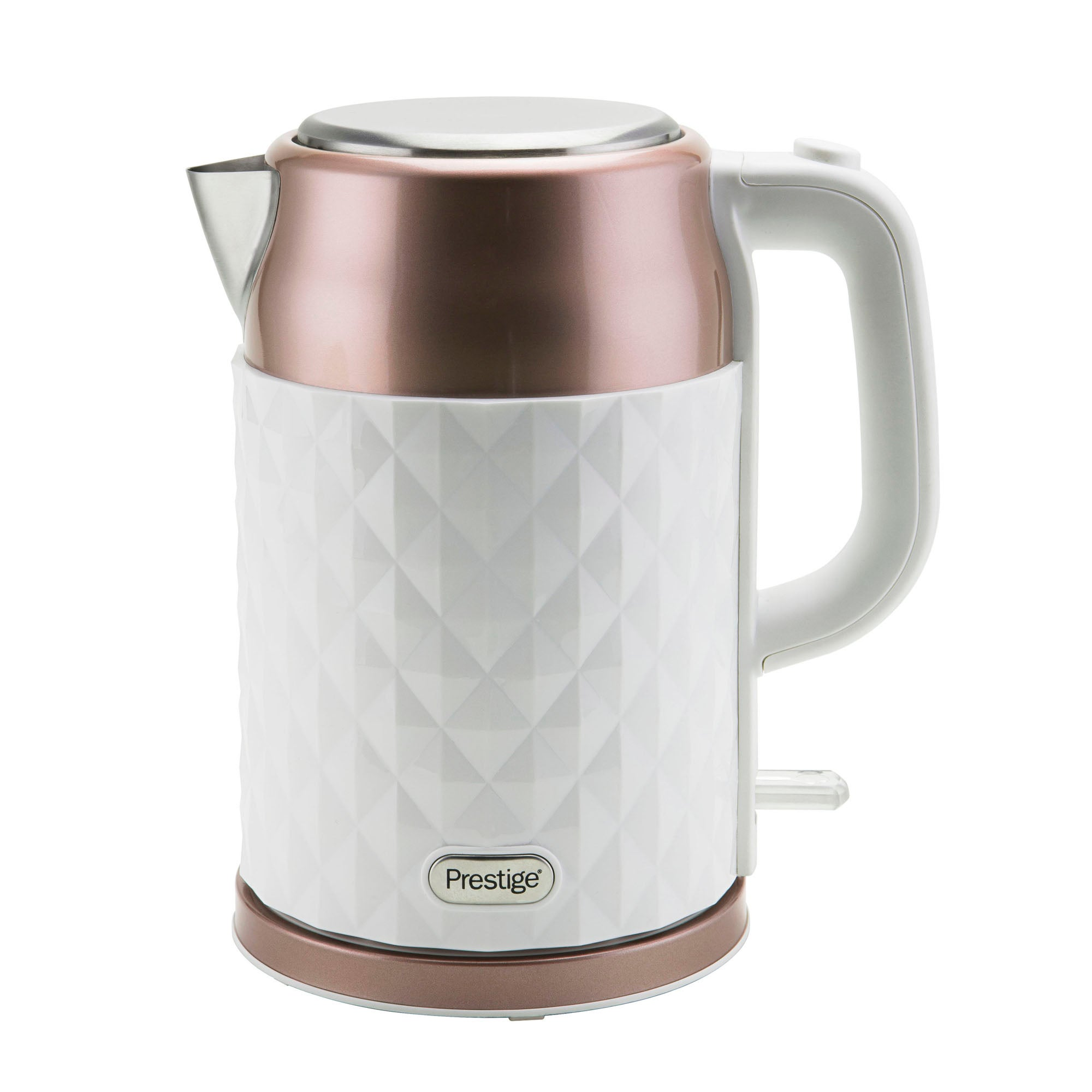 Click to view product details and reviews for Prestige Prism 17l Rose Gold Kettle Rose Gold.