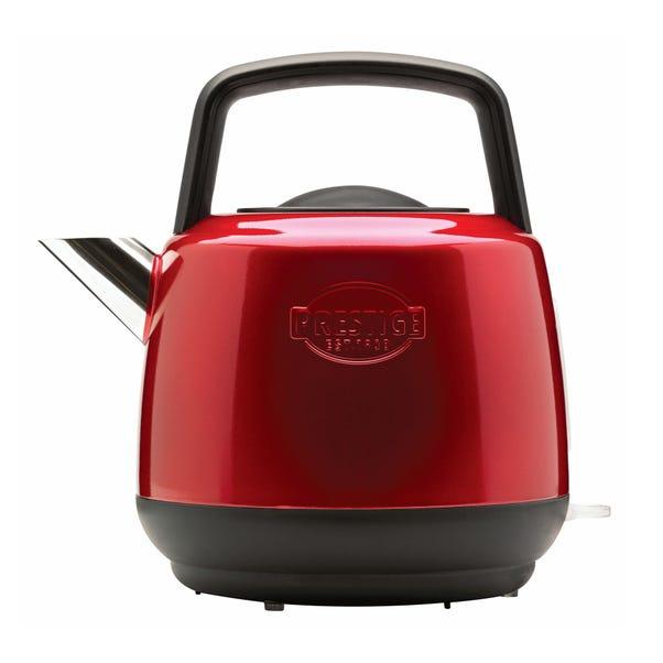 Prestige Heritage 1.5L Red Kettle Red