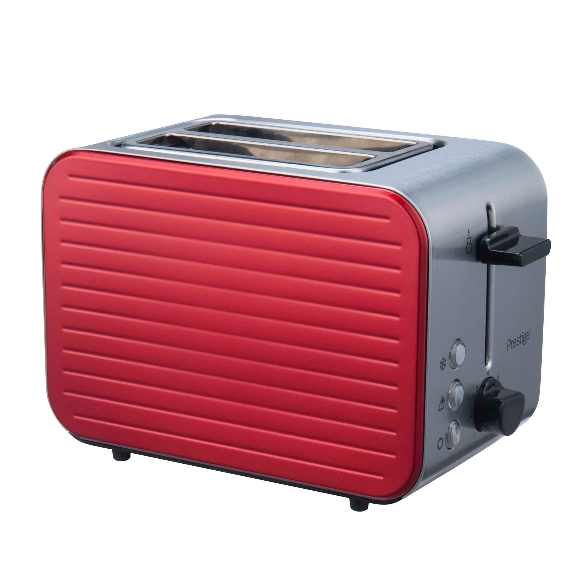 Click to view product details and reviews for Prestige Pearlescent Red 2 Slice Toaster Red.