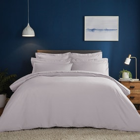 Fogarty Soft Touch Lilac Duvet Cover and Pillowcase Set