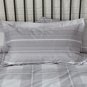 Colby Grey Oxford Pillowcase
