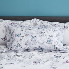 Ginkgo Butterfly White Oxford Pillowcase