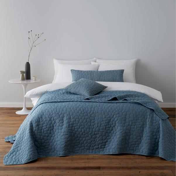 Pebble Teal Bedspread  undefined