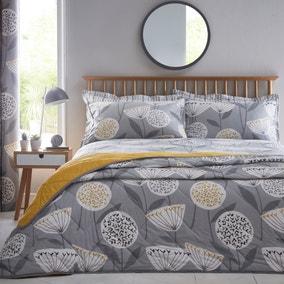 Elements Emmott Grey Bedspread