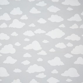 Grey Cloud Blackout Lining Fabric
