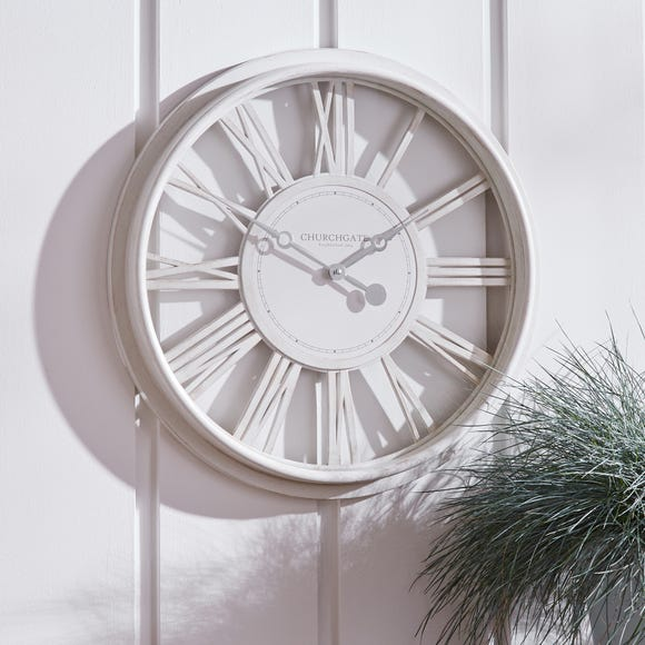 Numeral 51cm Wall Clock Cream Cream