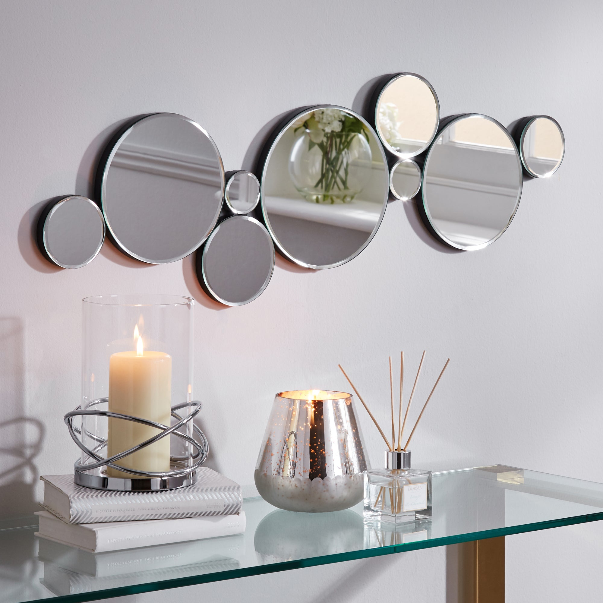 Click to view product details and reviews for Multi Circles Mirror Clear.