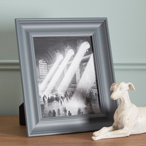 "Grey Wooden Painted Photo Frame 10"" x 8"" (25cm x 20cm)"