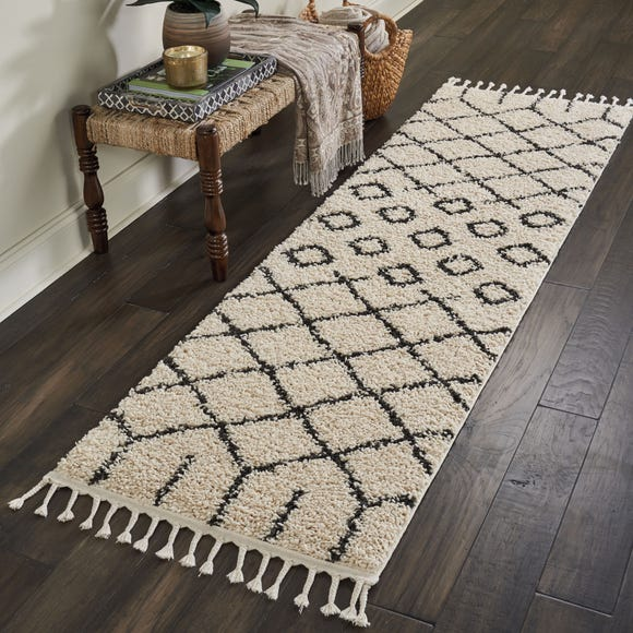 Moroccan 1 Shaggy Rug Natural undefined