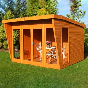10ft x 10ft Pinnacle Highclere Wooden Summerhouse
