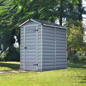 4ft x 6ft Palram Skylight Plastic Shed