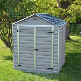 5ft x 6ft Palram Skylight Plastic Shed