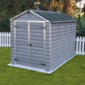 6ft x 10ft Palram Skylight Plastic Shed