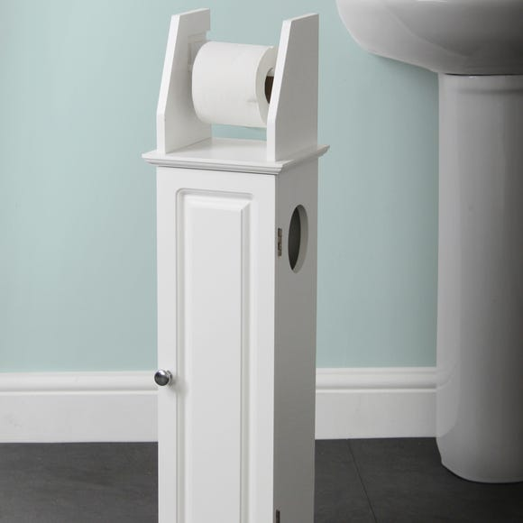 Veneto Toilet Roll Holder White
