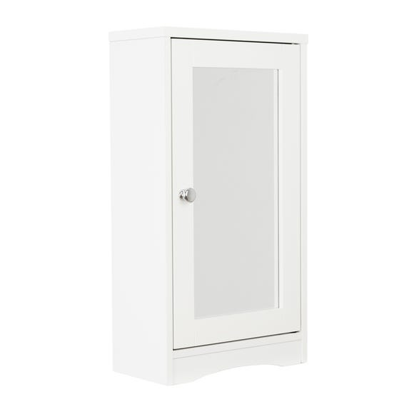Florence Mirror Cabinet White