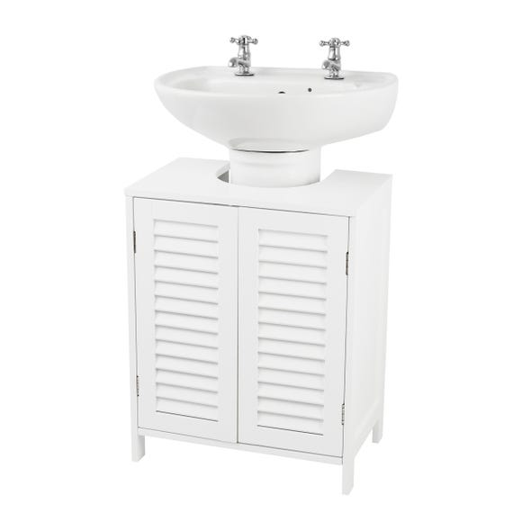 Tuscany Bathroom Vanity Unit White