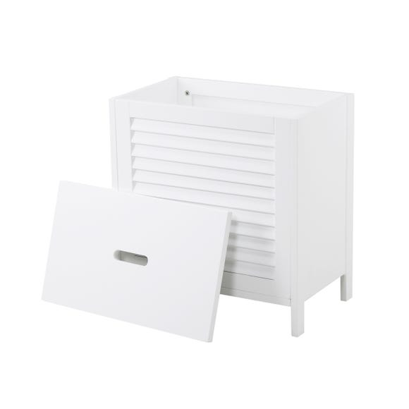 Tuscany Laundry Hamper White