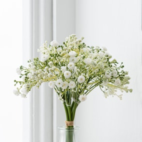 Artificial Gypsophila Cream Bundle 28cm