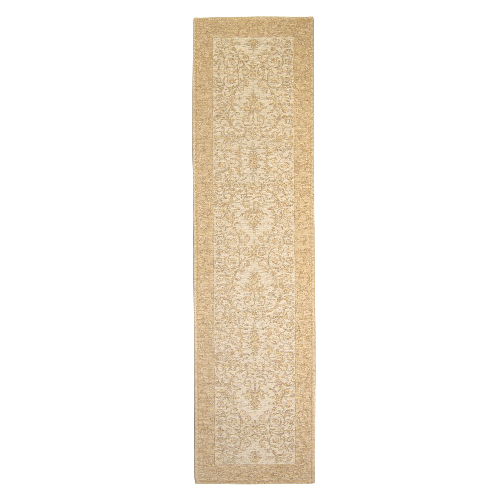 Dorma Regency Chenille Runner Gold