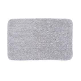 Marl Silver Bath Mat
