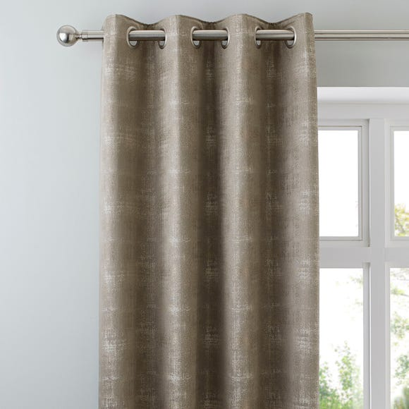 Dante Champagne Eyelet Curtains  undefined