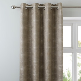 Dante Champagne Eyelet Curtains