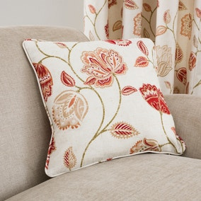 Jacobean Red Cushion