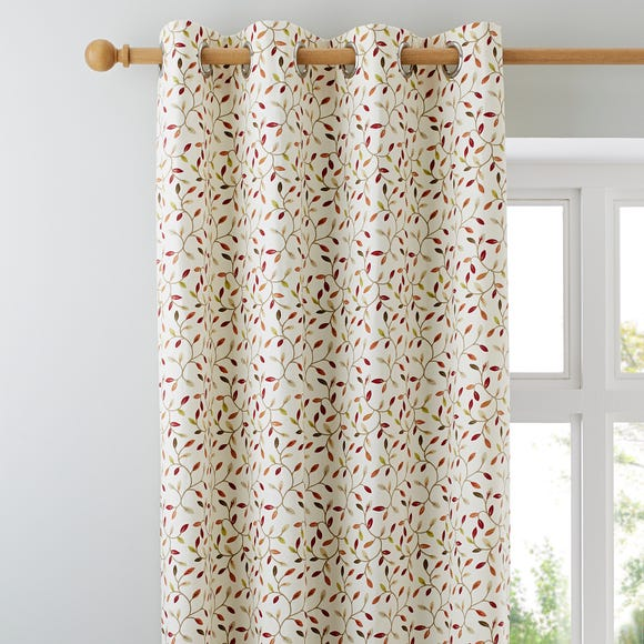 Juliet Terracotta Eyelet Curtains  undefined