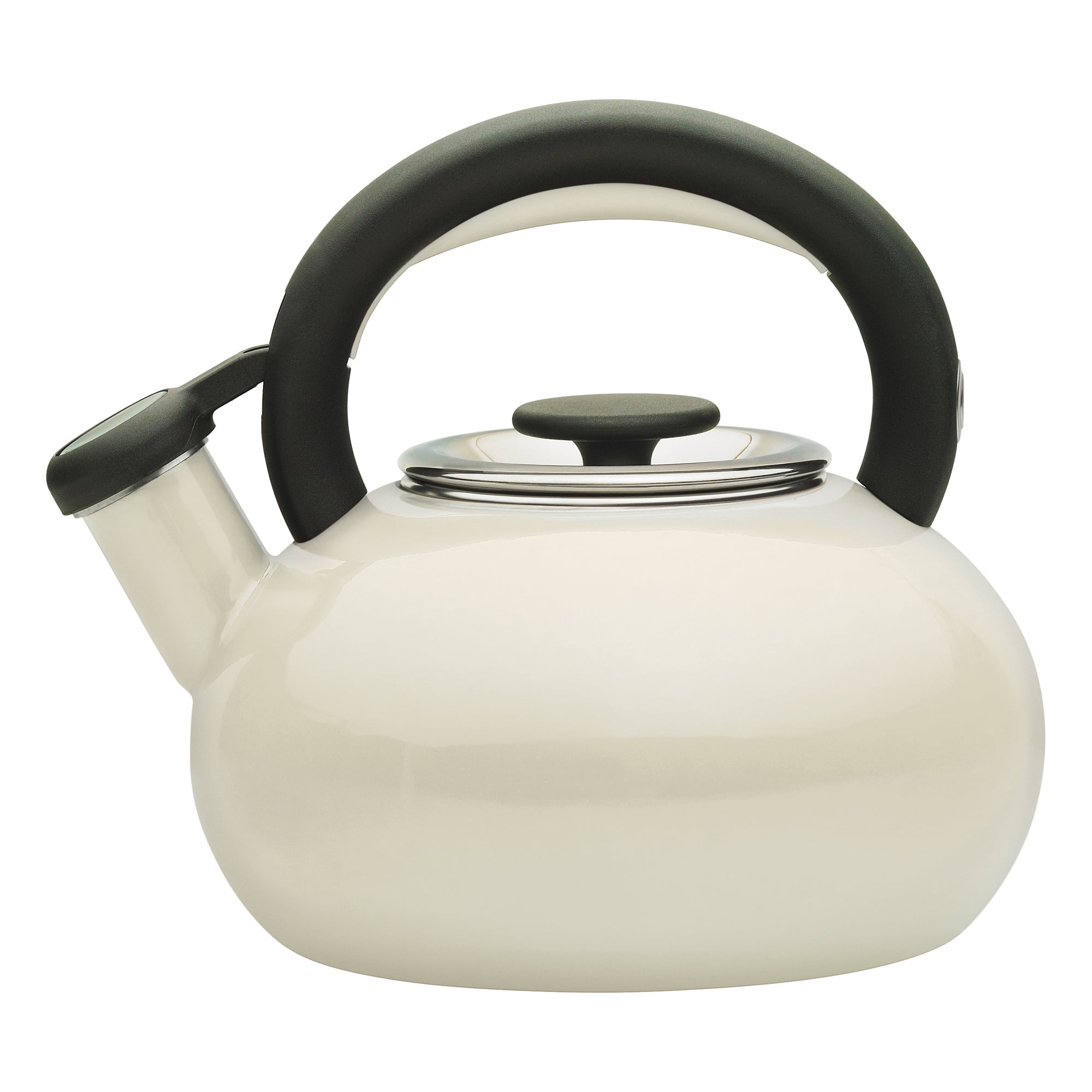 Click to view product details and reviews for Prestige Stove Top 14l Almond Kettle Cream And Black.