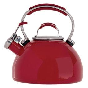 Prestige Stove Top 2L Red Kettle