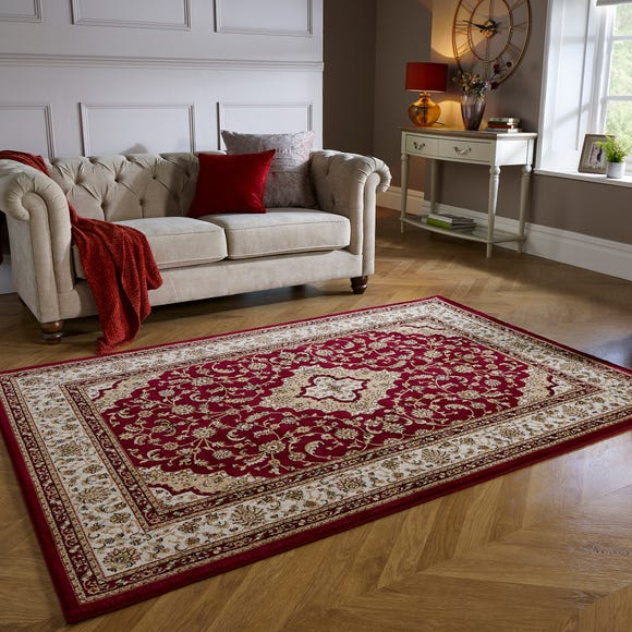 Antalya Traditional Rug Red undefined