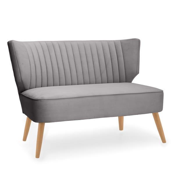 Eva 2 Seater Cocktail Sofa - Light Grey