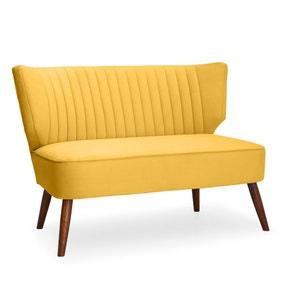 Eva 2 Seater Cocktail Sofa - Yellow